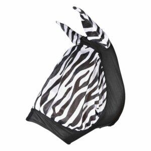 Flughuva Elastisk Zebra Ponny