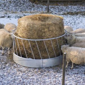 Foderhäck för får, 1,7 m ø