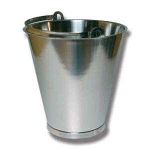 Hink Med Bottenband Rostfri 15 Liter